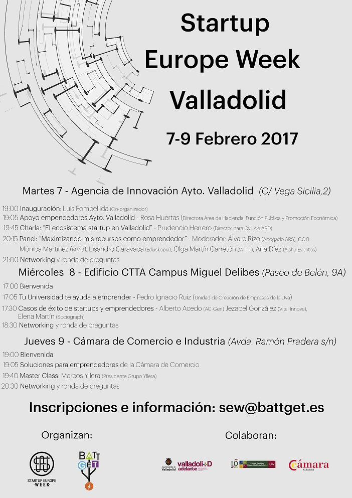 SEW 17 valladolid cartel general