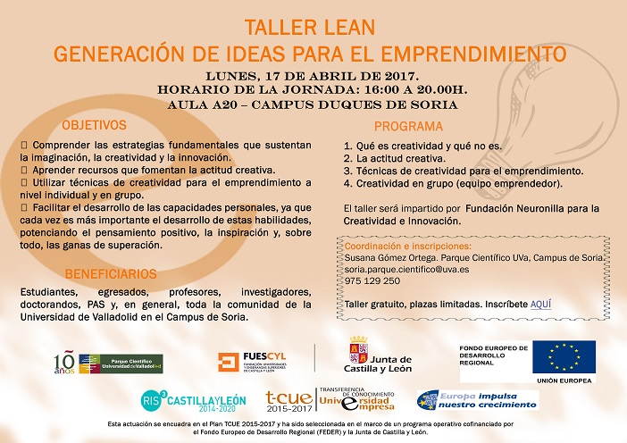 17 abril 2017 taller lean so
