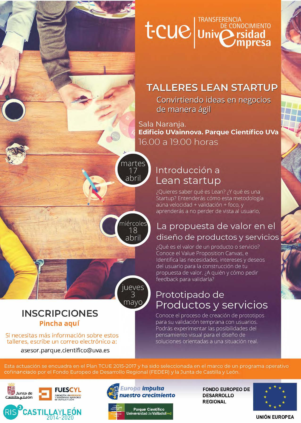 taller lean tcue campus va abril 2018
